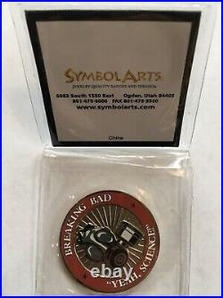 AMC Breaking Bad 2008 Crew Challenge Coin Season 2 EXTREMELY RARE YEAH, SCIENCE