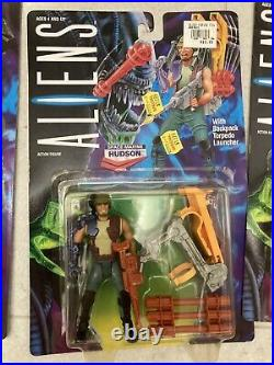 Aliens 1992 Kenner Extremely Rare Vasquez Omalley & Hudson Unreleased USA Set