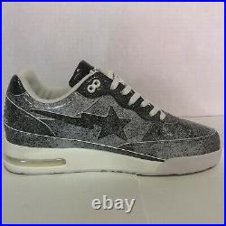 BAPE X STAMPD ROADSTA Extremely Rare 100% Authentic Size 11 New Box/Tote Bag