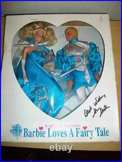 Barbie Loves A Fairy Tale Convention Doll LED 500 SIGNED EXTREMELY RARE HTF
