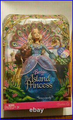 Barbie as The Island Princess Roselle withSagi, SINGS, EXTREMELY RARE, UNOPENED