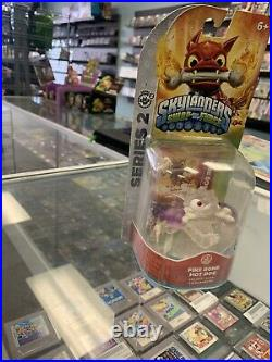 Clear Fire Bone Hot Dog PURPLE Skylanders Swap Force EXTREMELY RARE VARIANT