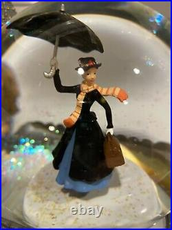 DISNEY Mary Poppins UK Limited Edition Snowglobe EXTREMELY RARE Mint With Box