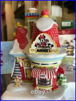 Dept 56 Mickey's Merry Christmas Village Minnie's Bakery EXTREMELY RARE