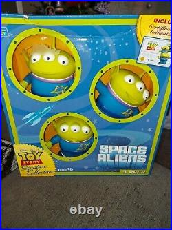Disney Toy Story 4 Aliens 3pack Extremely Rare Sealed And Mint discontinued