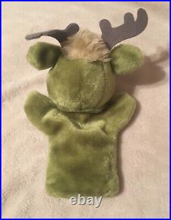 EXTREMELY RARE! 1985 Return To Oz Hand Puppet Duo- Tik-Tok and The Gump