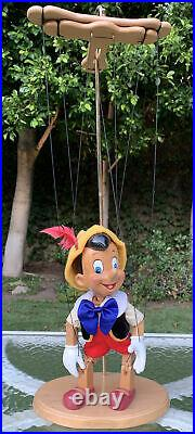 EXTREMELY RARE 1998 Disney Pinocchio Marionette Collectible Excellent Condition