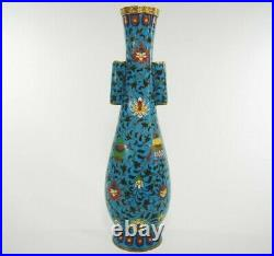 EXTREMELY RARE Chinese Ming Dynasty Cloisonné Arrow Vase VERY LARGE