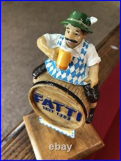 EXTREMELY RARE Fatti Seit 1353 Blonde Beer Tap Handle