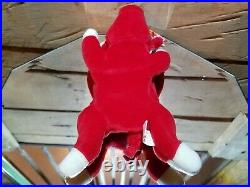 EXTREMELY RARE Gen Sticker Flaw Star Merged with Heart Snort Red Bull Beanie Baby