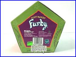 EXTREMELY RARE Gold Stripes Furby 1998 Gen 7 Tiger Electronics 70-800 SEALED F9