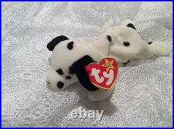 EXTREMELY RARE! Retired Ty Beanie Baby DOTTY with Errors EXCELLENT CONDITION