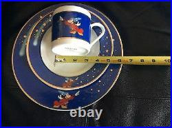 Extremely RARE! Mickey Mouse formal china dinnerware dishes 6place sets18 pieces