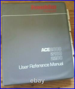 Extremely RARE Packaged FRANKLIN ACE 2200 Computer Boots