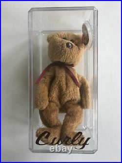 Extremely Rare 1993 Ty Beanie Baby Curly- Mint Condition