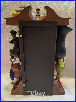 Extremely Rare 1999 Warner Bros Studio Store Looney Tunes Grandfather Clock