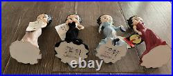 Extremely Rare 2001 Westland Giftware Betty Boop Figurine Model 6880 READ Set