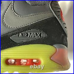 Extremely Rare 2014 Nike Air Max 90 Ice SneakerBoot 684722-002 Mens Size 9