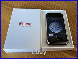 Extremely Rare Apple iPhone 1st Generation 2G-8GB, Black, AT&T iOS 1.1.3