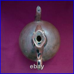 Extremely Rare Chinese Old Persimmon Glazed Phoenix Head Ewer Song Dynasty