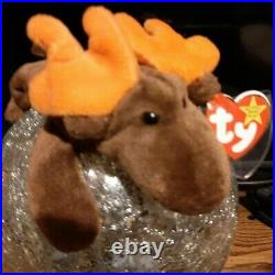 Extremely Rare Chocolate Ty Beanie Baby 1993 Retired Korean 1965KR Authentic
