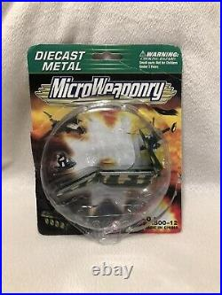 Extremely Rare Diecast Metal MicroWeaponry Micro Machines (not Complete In Box)