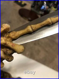 Extremely Rare Jeepers Creepers Movie Replica Prop Knife Set Excellent Condi