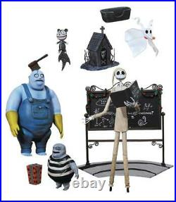 Extremely Rare Nightmare Before Christmas Select Series Wave 4 Set of 3 Figures