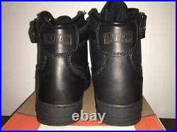 Extremely Rare Nike Air Force 1 High Steel Toe SWAT TEAM EDITION DS SZ 10