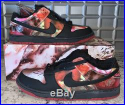 Extremely Rare Nike Dunk SB Low Pushead 1 Size 13 Autographed 2-Day Shipping