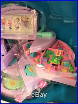 Extremely Rare Polly Pocket Big Beauty Case Bluebird 1990 Mattel Unopened New