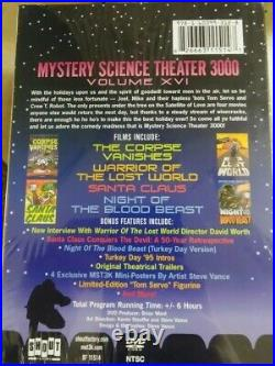 Extremely VHTF RARE Signed Sealed Mystery Science Theater 3000 BOX DVD TOM SERVO
