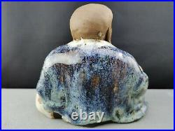 Extremely rare 19th/20th Chinese Antique Shi wan /shiwan ware Buddha - Large