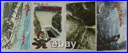 Fallout New Vegas Extremely Rare Post Card Set (Rage / Brink / Hunted)