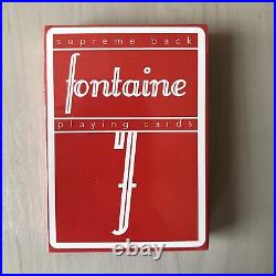 Fontaine Red V1 Extremely Rare! (cardistry, Anyone, A1, Riffleshuffle)