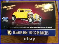 Franklin Mint American Graffiti 32 Ford Hot Rod 124, EXTREMELY RARE