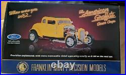 Franklin Mint American Graffiti 32 Ford Hot Rod 124, MIB, EXTREMELY RARE