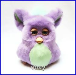 Funky furby 2006 emoto tronic 62169 PURPLE GREEN BOXED COMPLETE EXTREMELY RARE