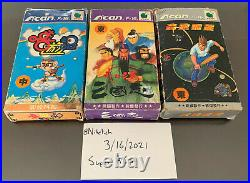 Funtech Super A'Can 8 of 12 Game Set, Extremely Rare, F001 to F008, See Desc