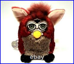 Furby 1998 model 70-800 Red Wolf GENERATION 7 red fur green eyes EXTREMELY RARE