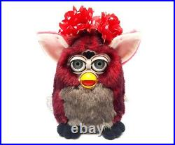 Furby 1998 model 70-800 Red Wolf GENERATION 7 red fur grey eyes EXTREMELY RARE
