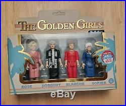 GOLDEN GIRLS rare FUNKO ReAction Figure Set NYCC 4-pack! Extremely Rare