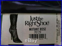 Just The Right Shoe MUTANT ROSE Boot NIB Very Rare & Extremely Hard To Find