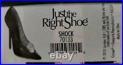 Just The Right Shoe SHOCK NIB Very Rare & Extremely Hard To Find
