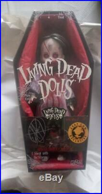 LIVING DEAD DOLL Resurrection Variant Posey 2007 AUTOGRAPHED EXTREMELY RARE