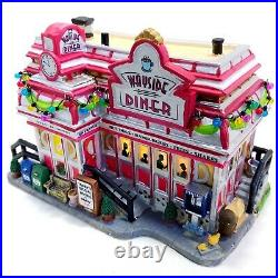 Lemax 2008 Wayside Diner Holidays Seasons #85683 Extremely Rare Discontinued