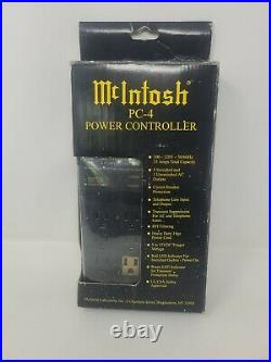 McIntosh PC-4 AC Power Controller New Opened Box. EXTREMELY RARE