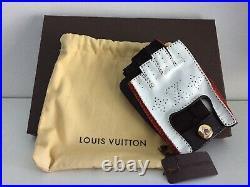 NEW Louis Vuitton Driving Gloves China Run (100% Authentic Extremely Rare)
