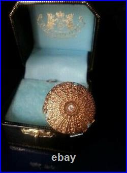NWOT JUICY COUTURE 2005 Ornate Gold Ball Charm EXTREMELY RARE HTF