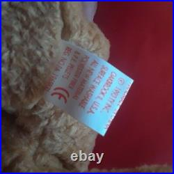 New Extremely Rare Curly Bear Retired TY Beanie Baby Distinctive Tag Errors
